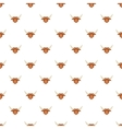 Bull head pattern cartoon style vector image vector image