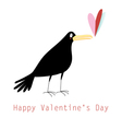 graphic love with a rook vector image
