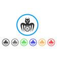 roulette spectre devil icon vector image vector image