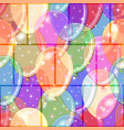 seamless background with balloons vector image vector image
