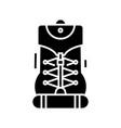 sport equipment black icon concept vector image vector image