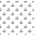 100 percent natural pattern seamless vector image vector image