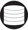 coins symbol vector image vector image