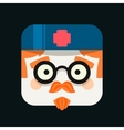 Doctor profession avatar Trendy icon vector image vector image