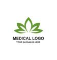 lotus beautiful logo vector image