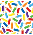 pencil pattern vector image vector image