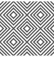 Simple geometric seamless pattern in black and vector image vector image