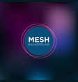 dark indigo mesh background vector image vector image