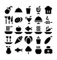Food Icons 11 vector image vector image