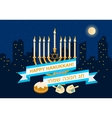 Happy Hanukkah Design vector image vector image