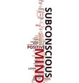 mind power tap magnificent power your vector image vector image