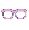 nice glasses accessory to can see vector image vector image