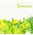 Abstract Summer Natural Background vector image vector image