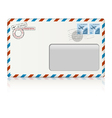 air mail envelope vector image vector image