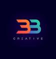 bb logo letter design with modern creative