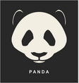 image chinese panda bear vector image