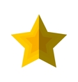 merry christmas star isolated icon vector image vector image