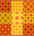 ornamental patterns for backgrounds textures vector image vector image