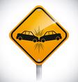 Road design vector image vector image