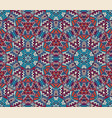 tribal vintage abstract geometric ethnic seamless vector image vector image