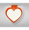 valentines copy space vector image vector image