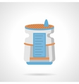 Air humidifier flat color icon vector image vector image