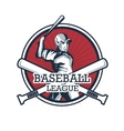 Baseball player Sport design graphic vector image vector image