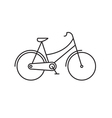 Bike icon outline vector image