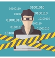 Hacker Internet Security concept vector image vector image