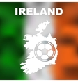 Irish Abstract Map vector image vector image