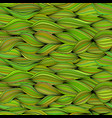 seamless pattern with wave ropes vector image