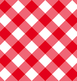 table diagonal cloth seamless pattern red big size vector image vector image