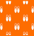 tied laces on shoes joke pattern seamless vector image vector image