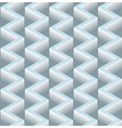 3D Zig Zag Seamless Pattern Background vector image