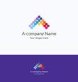 A-company logo vector image vector image