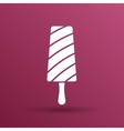 Chocolate ice cream sign Branding Identity vector image vector image