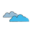 cloud weather sky climate image vector image vector image