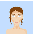 contouring vector image vector image