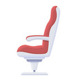 first class armchair icon cartoon style vector image vector image
