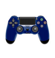 gamepad for a console gamegame controller isolate vector image vector image