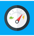 Speedometer Modern Flat Style vector image