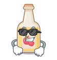 super cool apple cider isolated with mascot vector image vector image