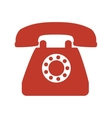 telephone phone vintage vector image