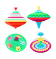 top toy kids whirligig humming spinner vector image vector image