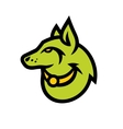 Wolf head sign vector image vector image