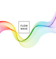 abstract background spectrum wave vector image vector image