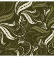 floral grunge pattern vector image