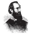 general thomas j jackson vintage vector image vector image