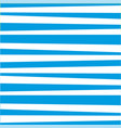 abstract horizontal striped pattern marine blue vector image vector image