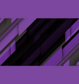 abstract purple grey geometric black futuristic vector image vector image